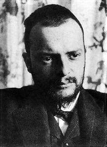 Paul Klee in 1911.