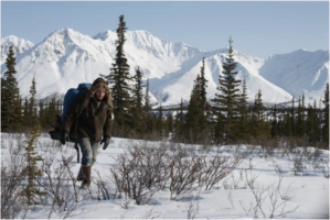 Into the Wild's main character Chris in a Sublime environment.