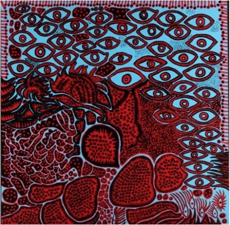 Yayoi Kusama, Eyes of Mine, 2010