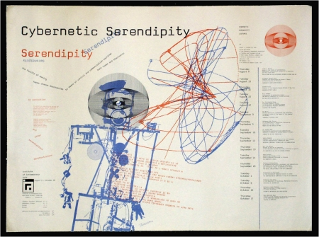 Cybernetic Serendipity, exhibition poster, 1968