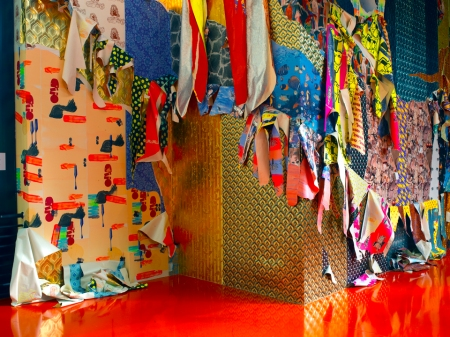 Ludovica Gioscia, Neurotic Seduction Astral 8 (2014), installation view, John Jones