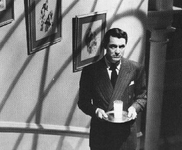 Still from Alfred Hitcock's Suspicion (1941)