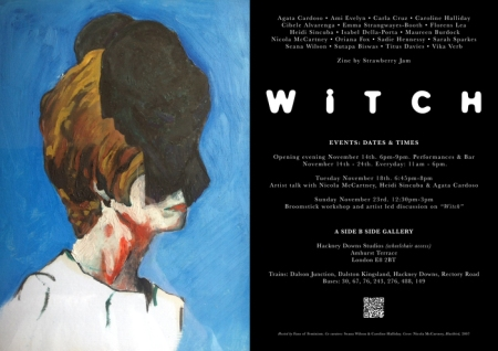 Witch (2014), exhibition poster