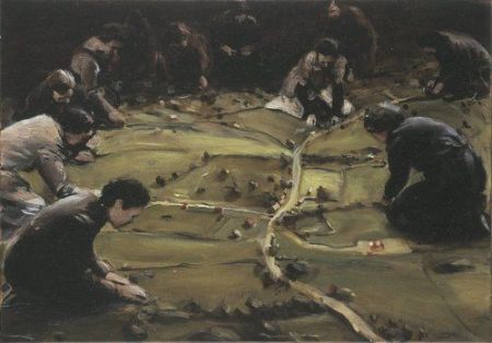 Michaël Borremans, Trickland, 2002
