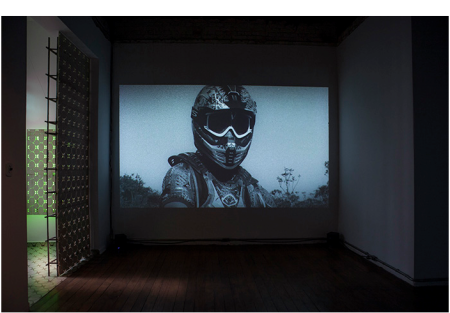 Luiz, Roque, The New Monument, 2013, installation view, PIPA Prize 2014