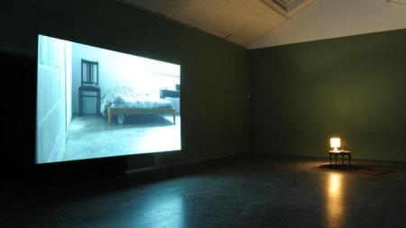 Sarah Forrest, I Left it on Page 32, 2013, installation view, CCA Glasgow
