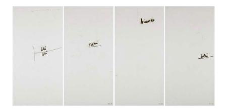 Mira Schendel, Monotypes, 1964-65