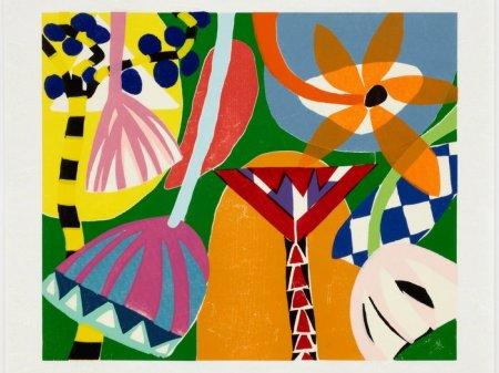 Gillian Ayres, Tivoli, 2001
