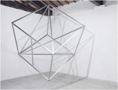 Jose Dávila, Imbalance of perfection, 2010, aluminium, 190 x 190 x 190 cm