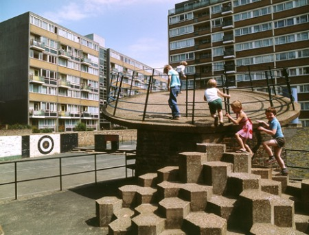 Churchill Gardens Playground, London, 1978