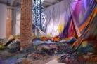 Catharina Grosse, 'Untitled Trumpet', mixed media, 2015