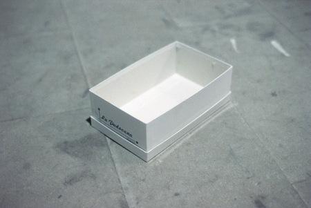 Gabriel Orozco, Empty Shoe Box, 2009
