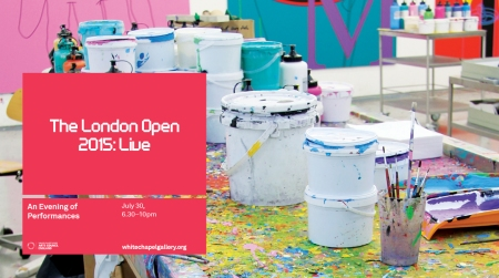 The London Open: Live 2015, image courtesy of Whitechapel Gallery