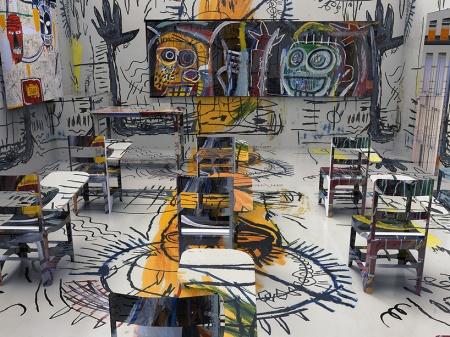 Jon Rafman, Basquiat Classroom, 2013