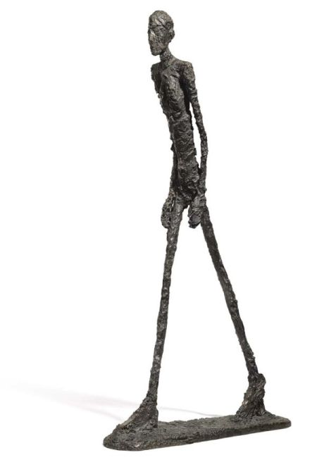 Alberto Giacometti, The Walking Man I, 1960