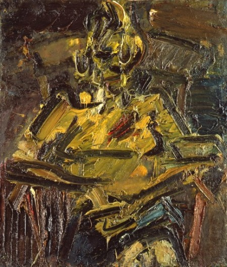 Frank Auerbach, Portrait of Catherine Lampert, 1981-1982