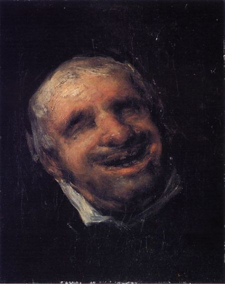 Francisco Goya, Portrait of Tio Panquete, 1820-23