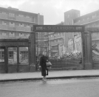 Nigel Henderson, Photograph showing a row of shops part-demolished (c.1949-c.1956) © Nigel Henderson Estate and Photographic Rights © Tate (2015). Available under a CC-BY-NC-ND 3.0 (Unported) licence Photo credit: http://www.tate.org.uk/art/archive/tga-201011-3-1-136-4/henderson-photograph-showing-a-row-of-shops-part-demolished