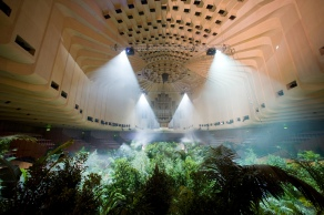 A Forest of Lines (2008), Pierre Huyghe, Concert Hall at Sydney Opera House, 16th Biennale of Sydney