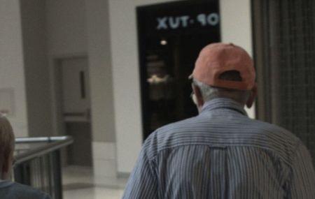 Rob Crosse, Film still from 'Mall Walking', 2015.