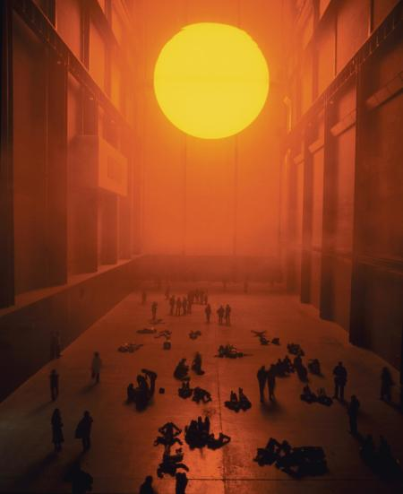 Olafur Eliasson, The weather project, 2003.