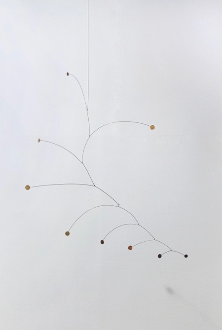 1 Jaime Pitarch, Calderilla, 2016, Mixed technique, Coins, metal wire and thread, Variable dimensions