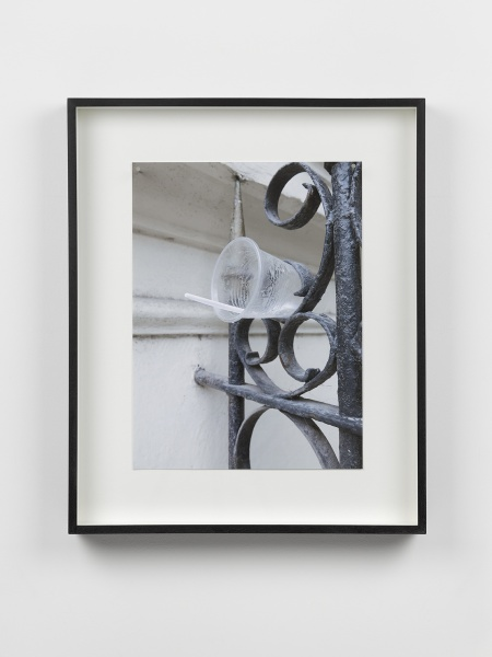 12 Richard Wentworth, Havana, 2015, Archival Inkjet print, steel nails, wooden frame, 58.8 x 48 x 7 cm - 23 x 19 x 3 in