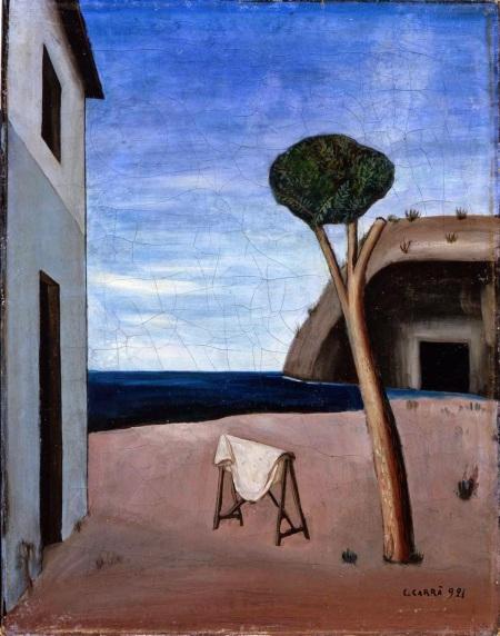 Carlo Carrà, Il pino sul mare, 1921