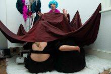 Fenia Kotsopoulou, From a Greek Cunt's-eye-view, 2016. At Deep Trash: Greek Trash. Photo by Orlando Myxx.