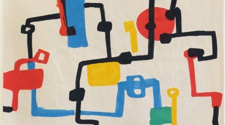 6 Etel Adnan, Champs de Petrol (Petrol Fields), 2013, Image courtesy of Sfeir-Semler Gallery, Barjeel Art Foundation