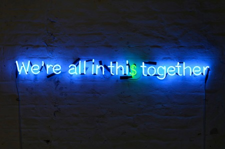 Karen Ay, We're all in this together, 2010
