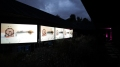 Helen Marten, Dust and Piranhas, 2011, screening at Serpentine Gallery, London (Park Night Project). Courtesy of the artist.