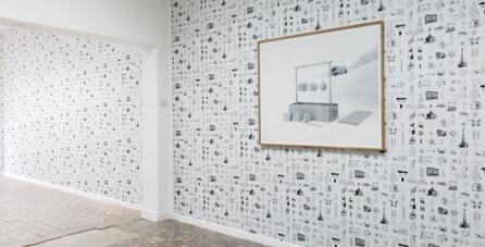 Aurélien Froment, Les articles indéfinis, Galerie Marcelle Alix, 2011, view of the exhibtion.