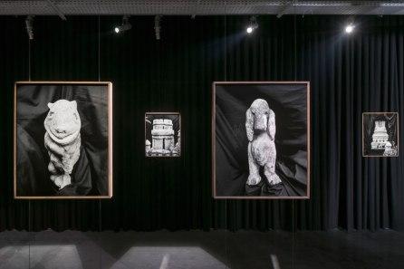 Aurélien Froment, Montage des attractions, frac île-de-france, 2014, view of the exhibition.