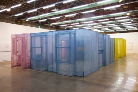 Installation view, Do Ho Suh, The Contemporary Austin – Jones Center, Austin, 2014. Courtesy the artist; Lehmann Maupin, New York and Hong Kong; and the Kronos Collection. Photograph by Brian Fitzsimmons.